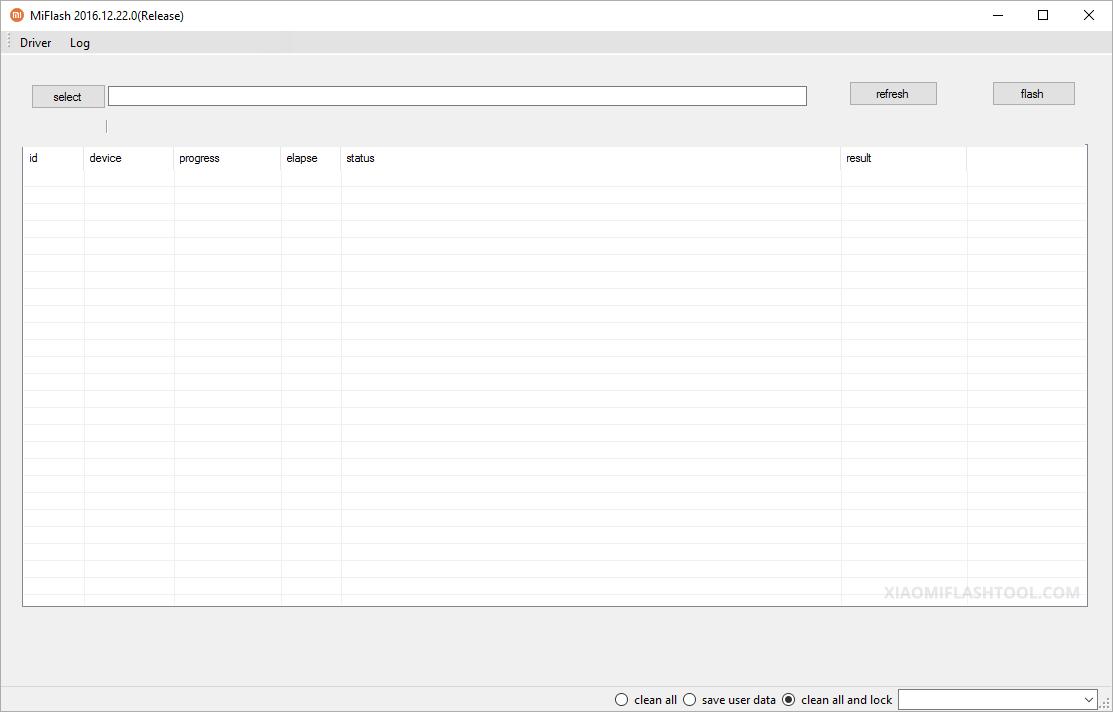 Download Xiaomi Flash Tool 20161222 - Official Tool