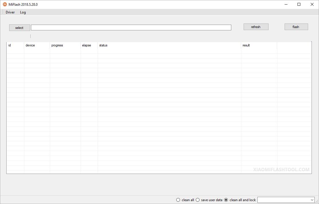 Xiaomi Flash Tool 20180528